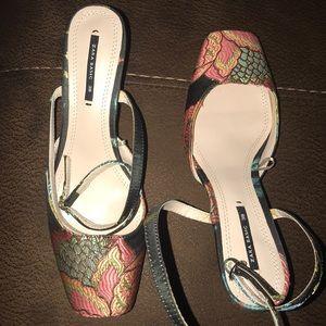 Zara Shoes - ZARA kitten heel shoes